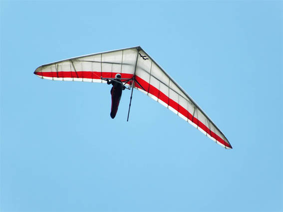 Hang gliding Barbosa Colombia